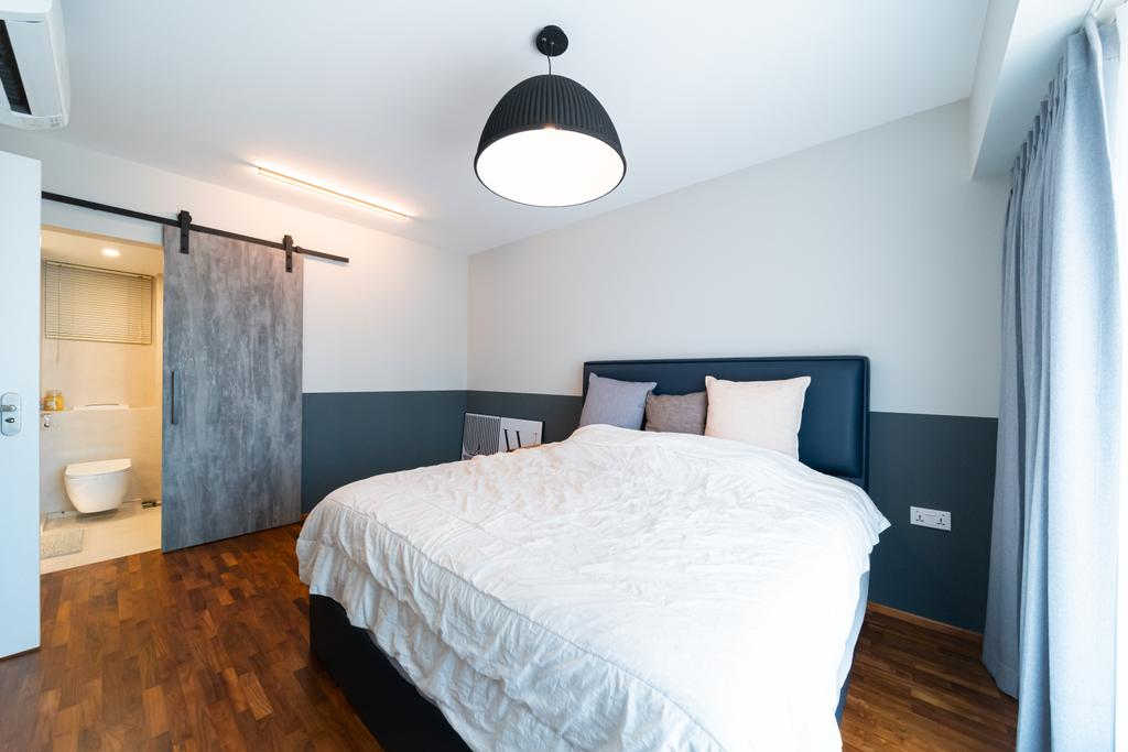 Scandinavian, HDB, Bedroom, Cantonment Road, Interior Designer, Albedo Design