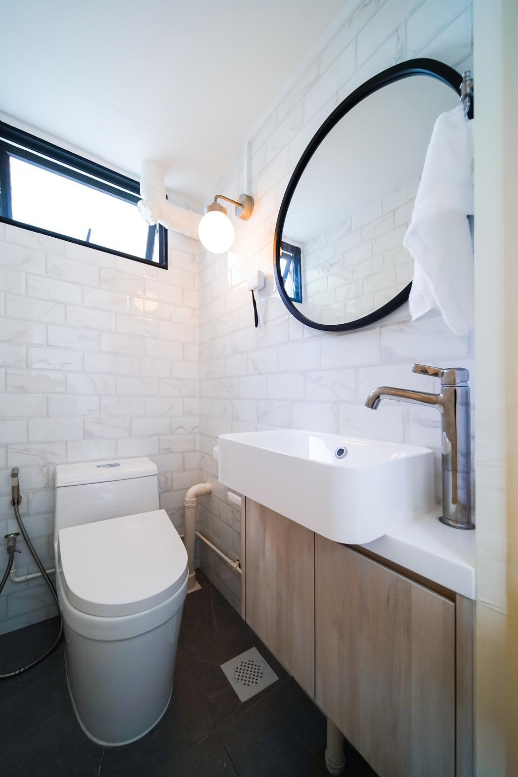 Contemporary, HDB, Bathroom, Tanjong Pagar Plaza, Interior Designer, Albedo Design