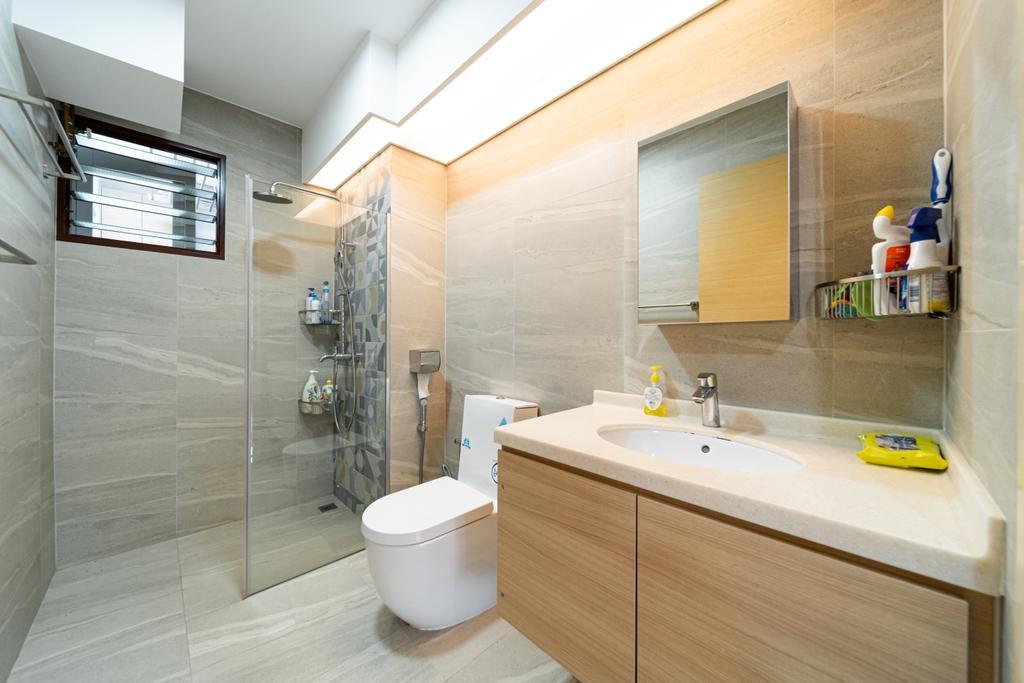 Contemporary, HDB, Fernvale Road, Interior Designer, Albedo Design, Minimalistic