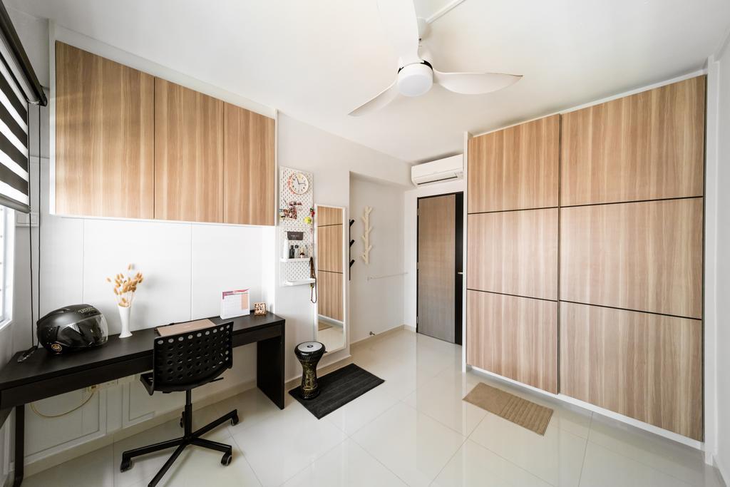 Contemporary, HDB, Study, Hougang Avenue 8, Interior Designer, Albedo Design