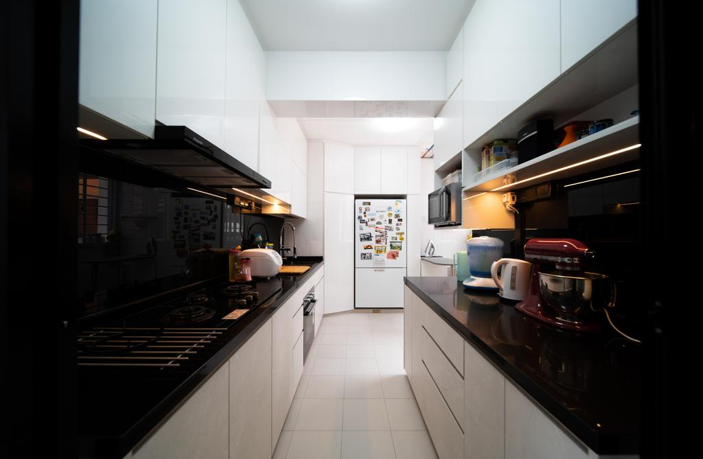 Contemporary, HDB, Hougang Avenue 8, Interior Designer, Albedo Design
