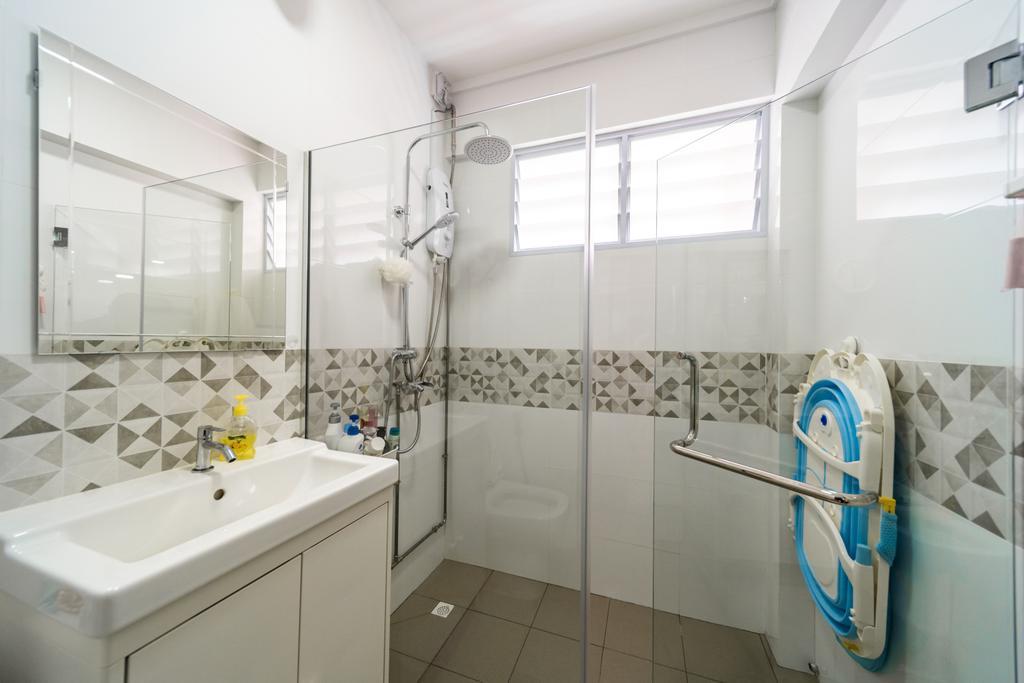 Contemporary, HDB, Bathroom, Hougang Avenue 8, Interior Designer, Albedo Design