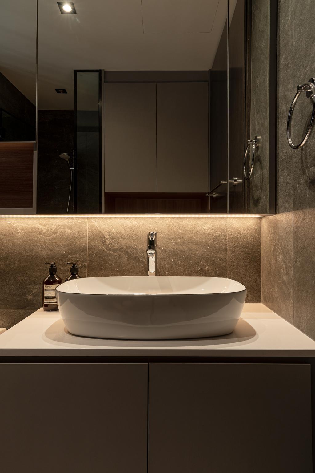 Modern, Condo, Bathroom, Jewel @ Buangkok, Interior Designer, Insight.Out Studio, Contemporary