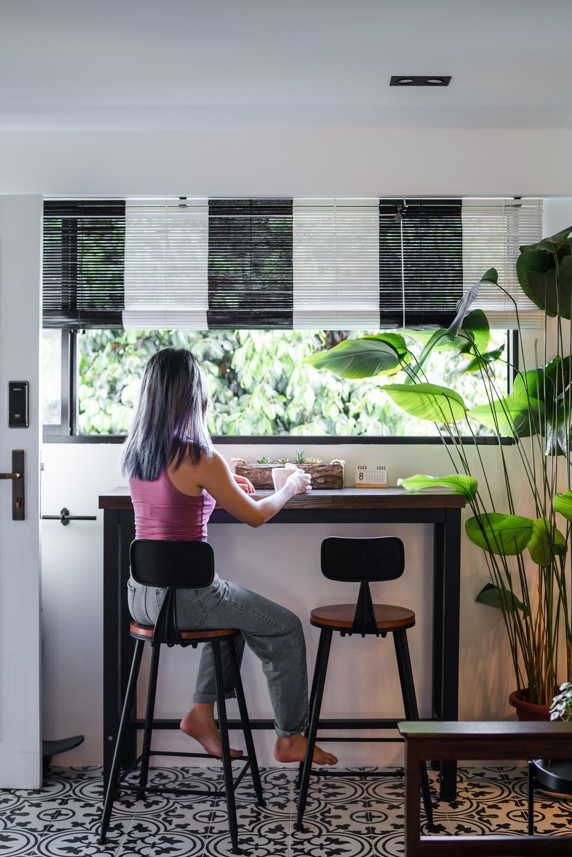 Retro, HDB, Balcony, Telok Blangah Way, Interior Designer, Insight.Out Studio, Eclectic, Transitional