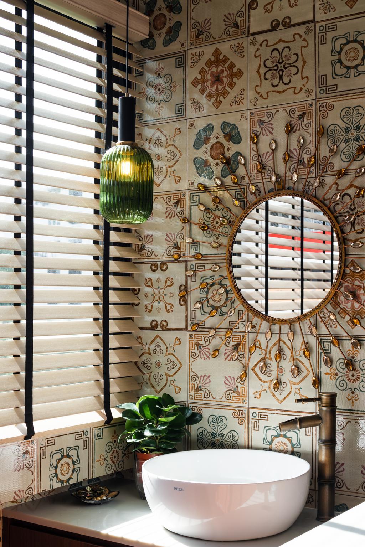 Retro, HDB, Bathroom, Telok Blangah Way, Interior Designer, Insight.Out Studio, Eclectic, Transitional