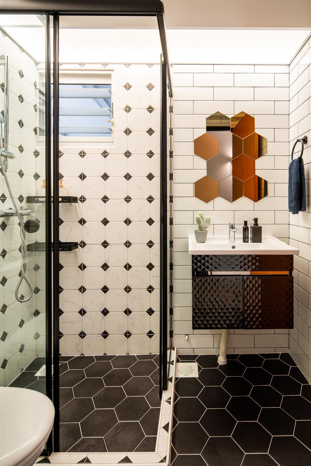 Industrial, HDB, Bathroom, Canberra Walk (Block 108), Interior Designer, Insight.Out Studio