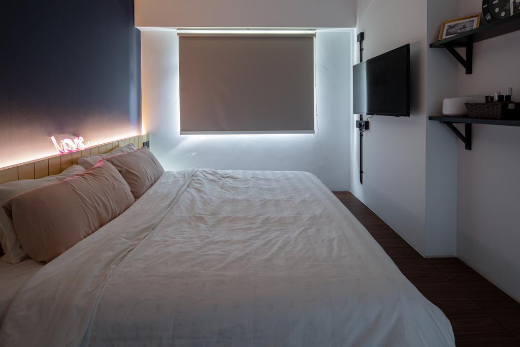 Industrial, HDB, Bedroom, Canberra Walk (Block 108), Interior Designer, Insight.Out Studio