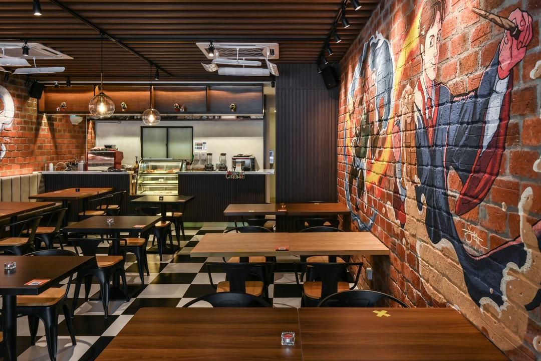 Fiction Food, Bangsar Baru, Y&L Concept Studio, Retro, Commercial