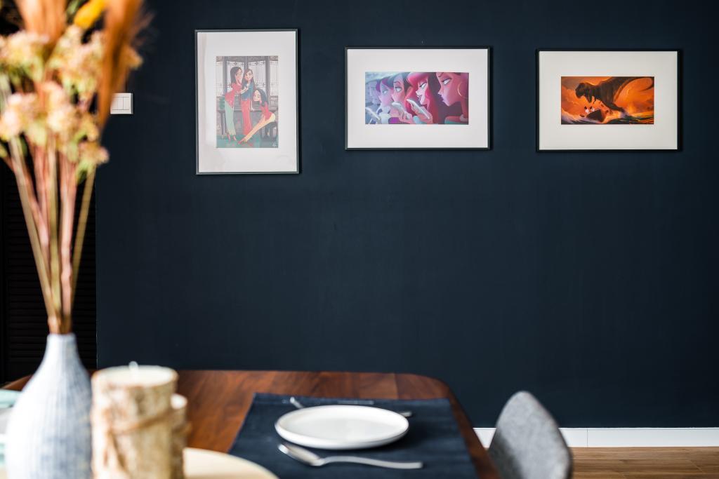 Retro, HDB, Dining Room, Senja Road, Interior Designer, Insight.Out Studio