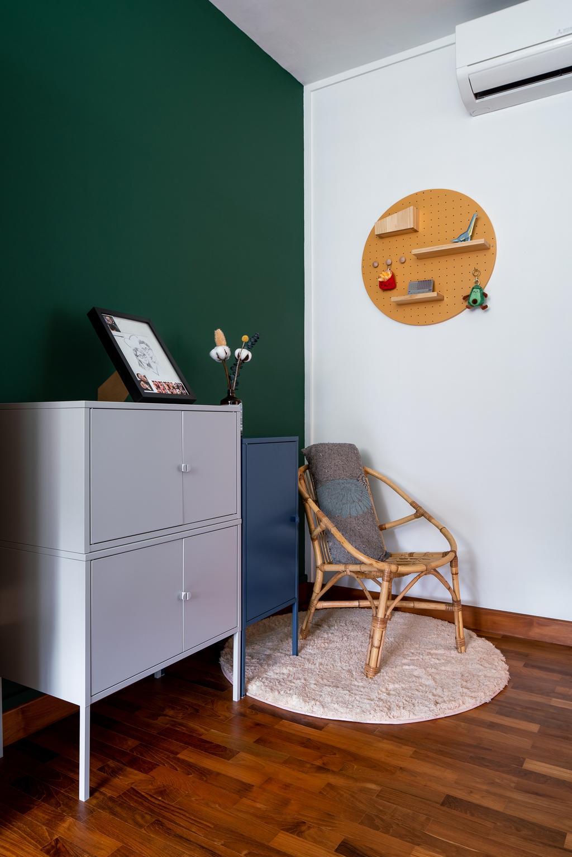 Retro, HDB, Bedroom, Senja Road, Interior Designer, Insight.Out Studio