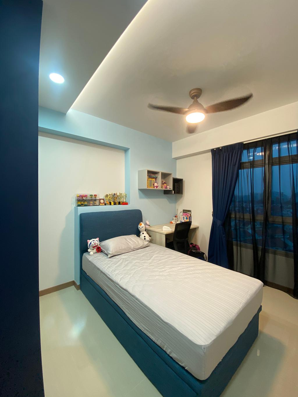 Modern, HDB, Bedroom, Bidadari Park Drive, Interior Designer, Sky Creation Asia