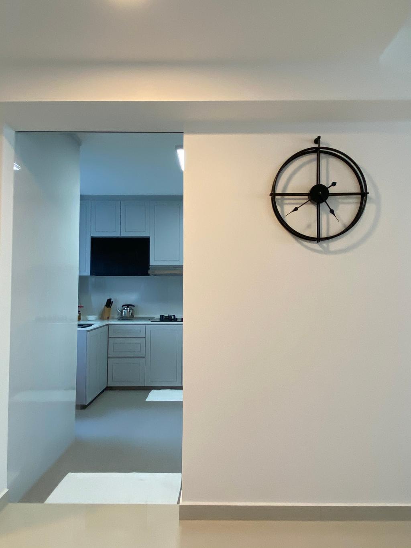 Minimalistic, HDB, Kitchen, Jurong West Street 41, Interior Designer, Sky Creation Asia