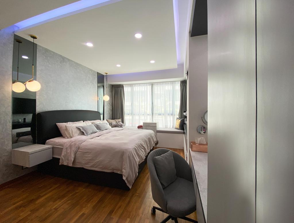Contemporary, Condo, Kovan Residences, Interior Designer, Sky Creation Asia