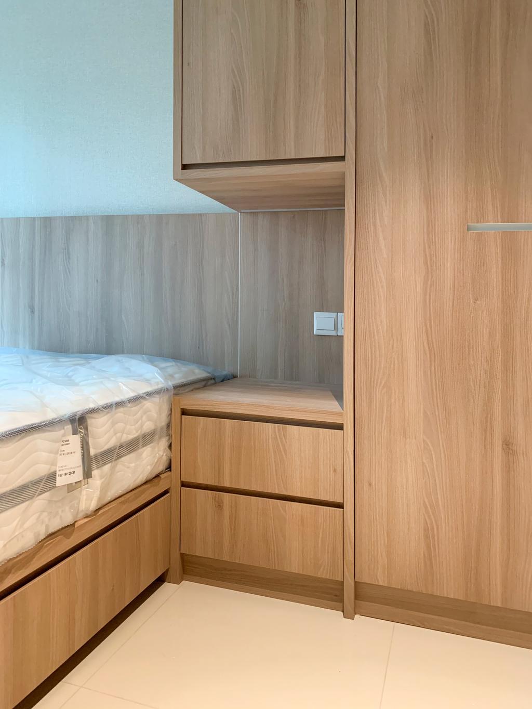 Modern, HDB, Bedroom, West Ridges @ Bukit Batok, Interior Designer, Sky Creation Asia, Scandinavian