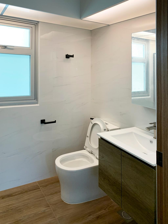 Modern, HDB, Bathroom, West Ridges @ Bukit Batok, Interior Designer, Sky Creation Asia, Scandinavian