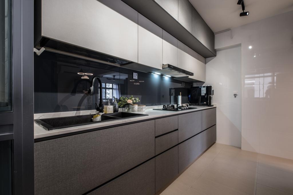 Contemporary, HDB, Kitchen, Bukit Batok West Ave 9, Interior Designer, United Team Lifestyle