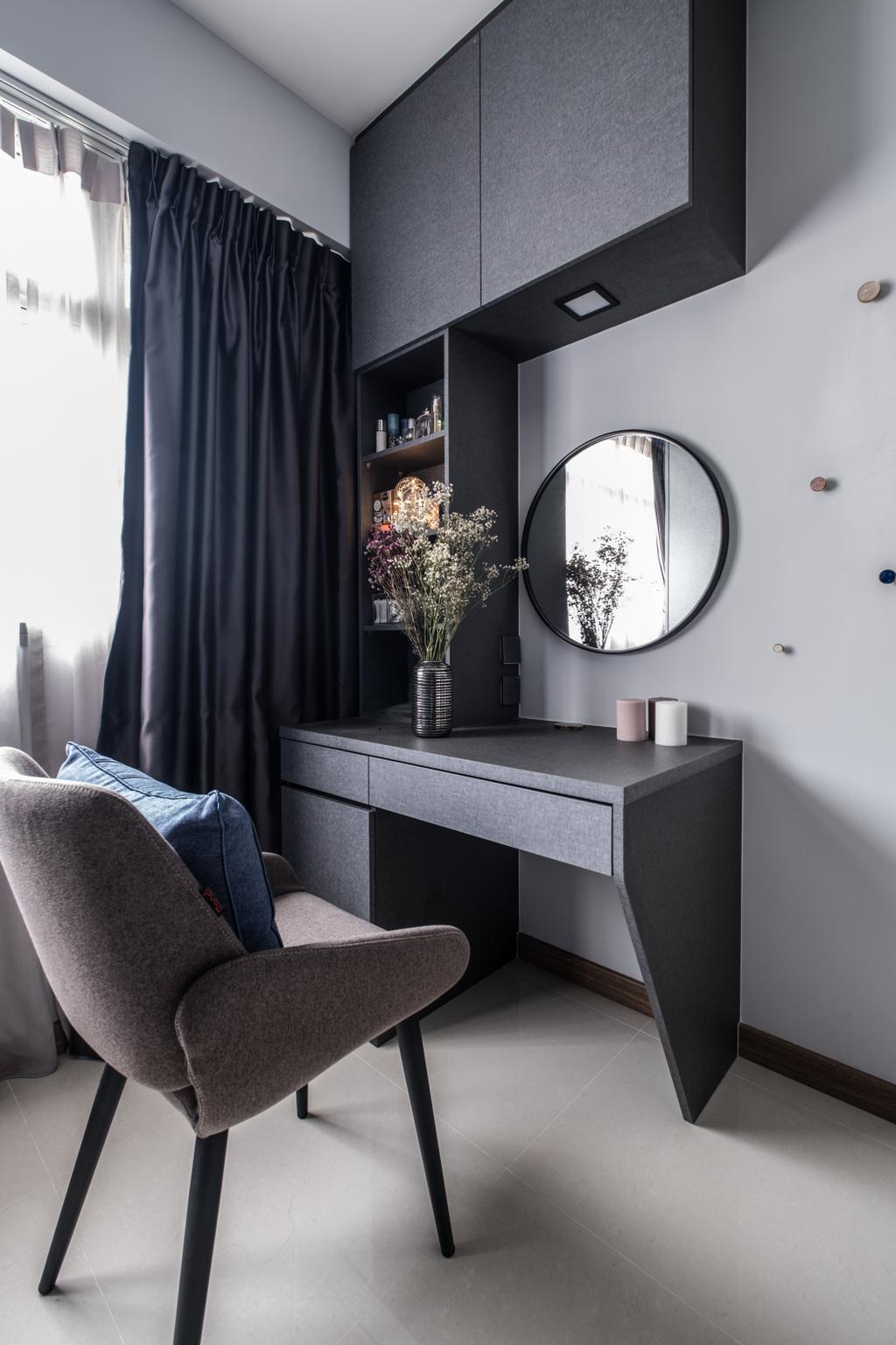 Contemporary, HDB, Bedroom, Bukit Batok West Ave 9, Interior Designer, United Team Lifestyle