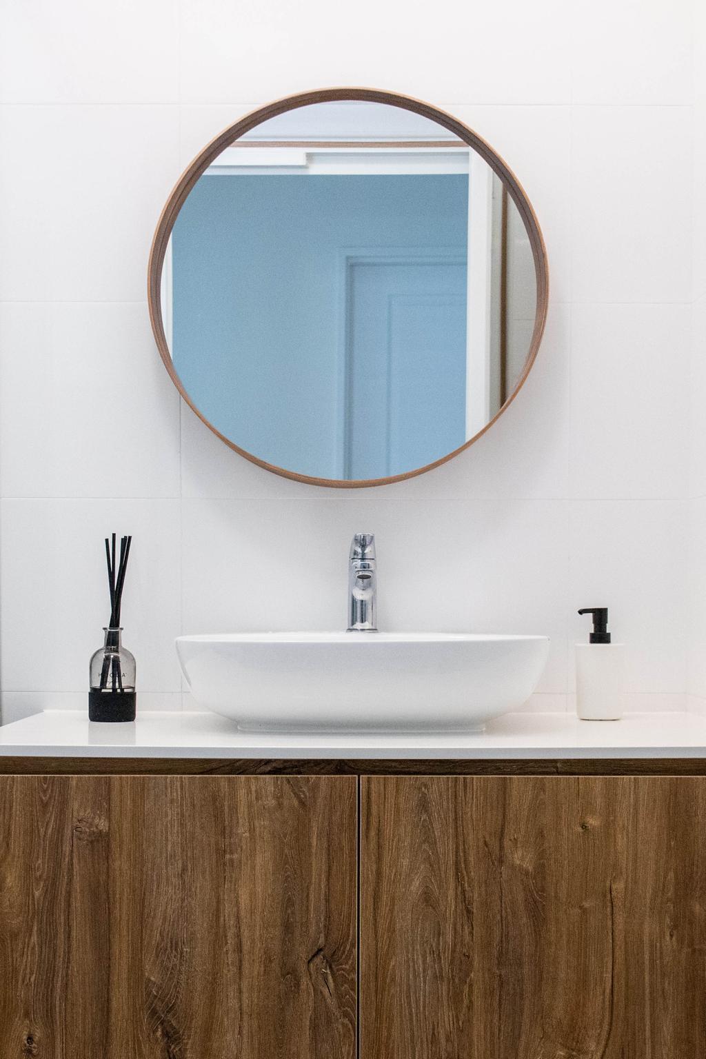 Scandinavian, HDB, Bathroom, Bedok North Road, Interior Designer, Forefront Interior