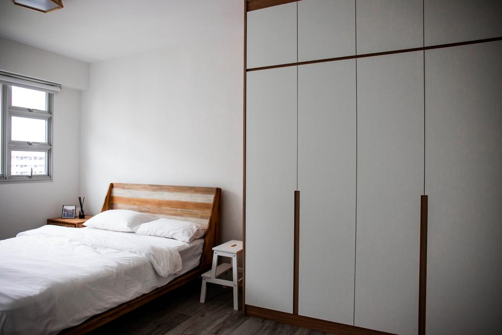 Scandinavian, HDB, Bedroom, Bedok North Road, Interior Designer, Forefront Interior