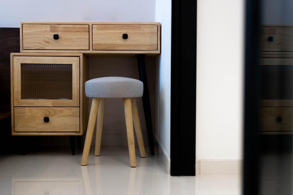 Scandinavian, HDB, Bedroom, Boon Keng Road, Interior Designer, Forefront Interior