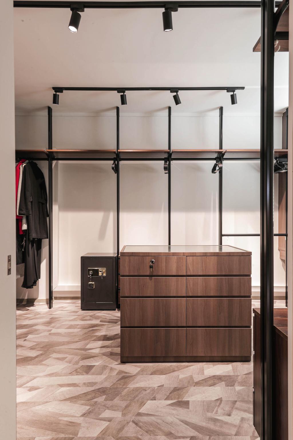 Modern, HDB, Bedroom, Tampines Street 41, Interior Designer, Posh Living Interior Design, Contemporary