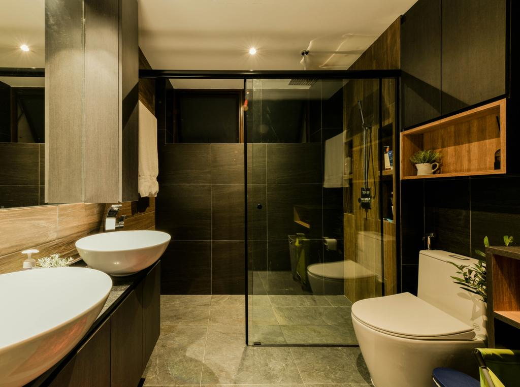 Contemporary, Condo, Bathroom, Varsity Park, Interior Designer, PHD Posh Home Design
