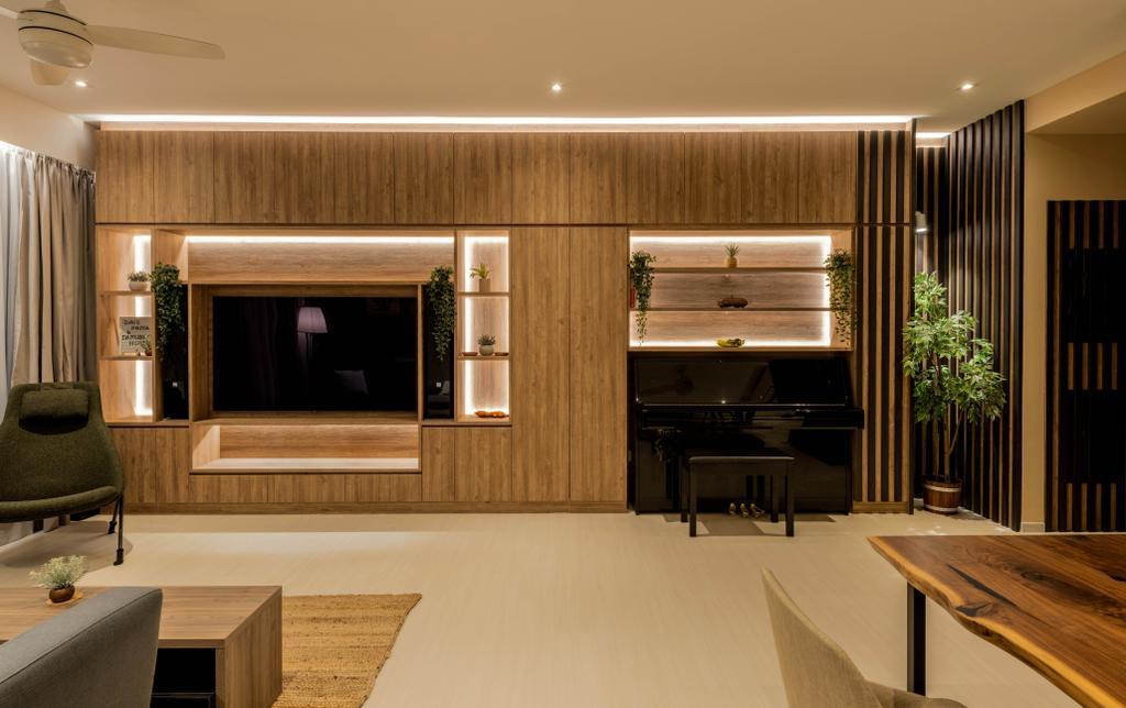 Contemporary, Condo, Living Room, Varsity Park, Interior Designer, PHD Posh Home Design
