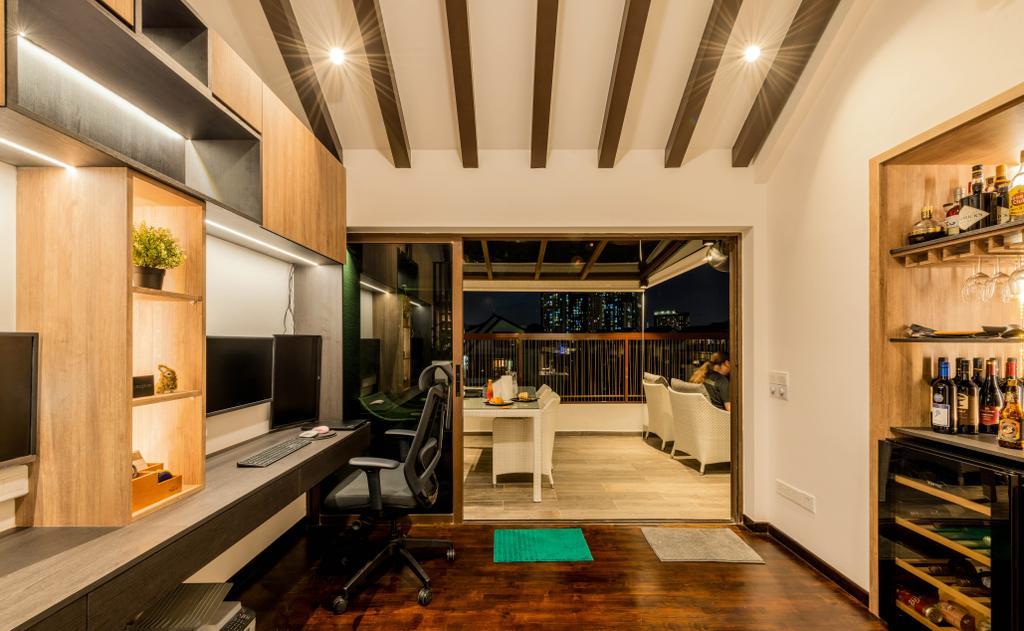 Contemporary, Condo, Study, Varsity Park, Interior Designer, PHD Posh Home Design