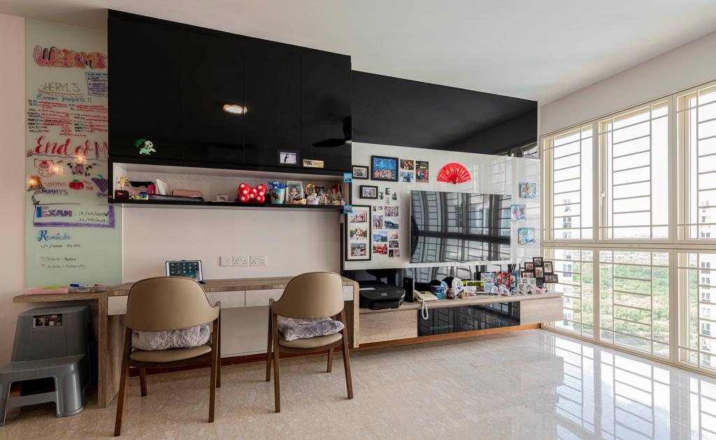 Modern, Condo, Living Room, Rio Vista, Interior Designer, DM+, Contemporary
