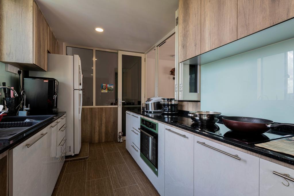 Modern, Condo, Kitchen, Rio Vista, Interior Designer, DM+, Contemporary