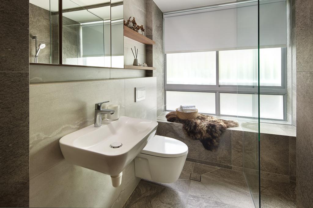 Contemporary, Condo, Bathroom, Naturalis, Interior Designer, Notion of W, Scandinavian