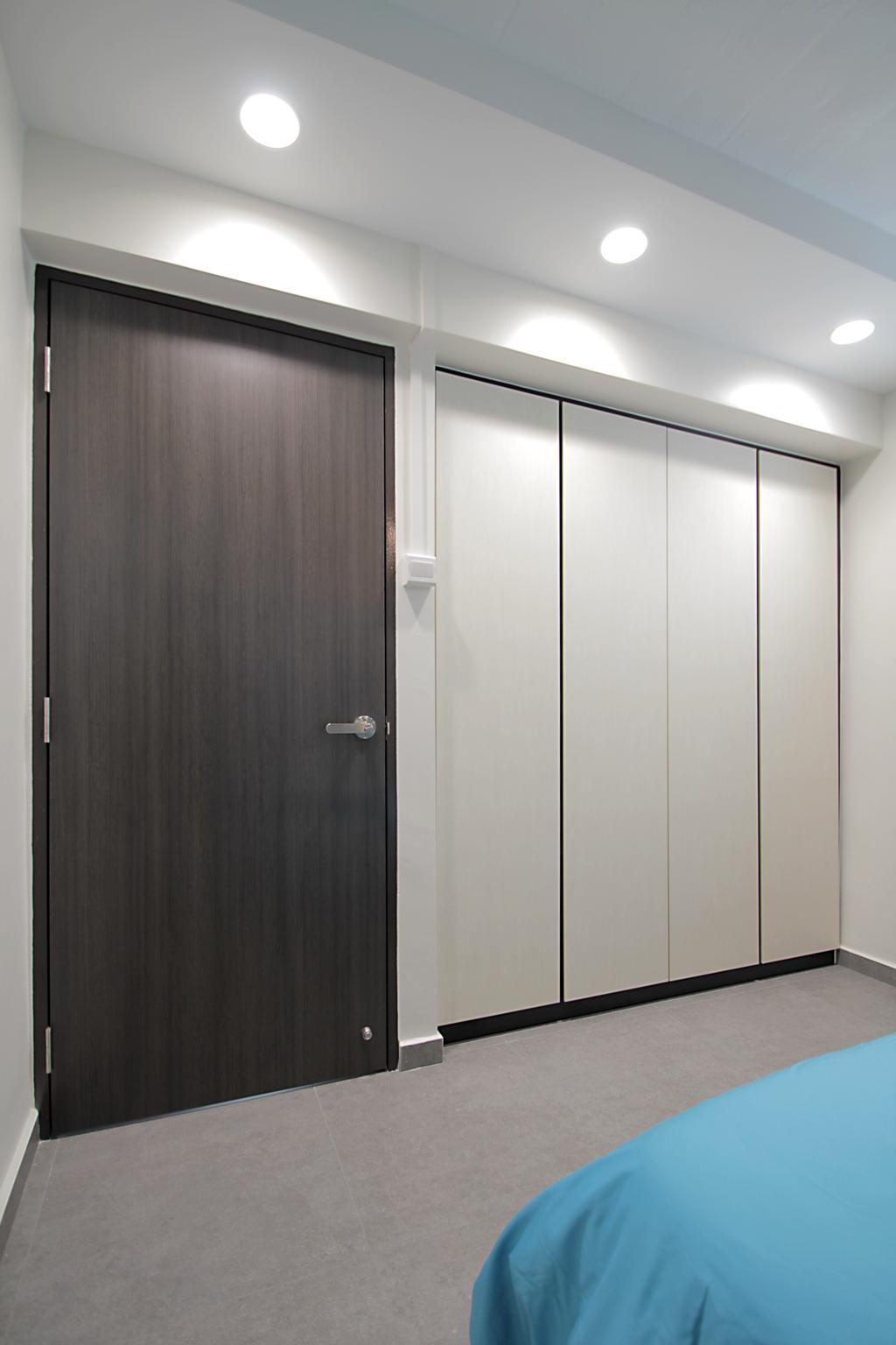 Contemporary, HDB, Bedroom, Yishun Ring Road, Interior Designer, Mesh Room Design