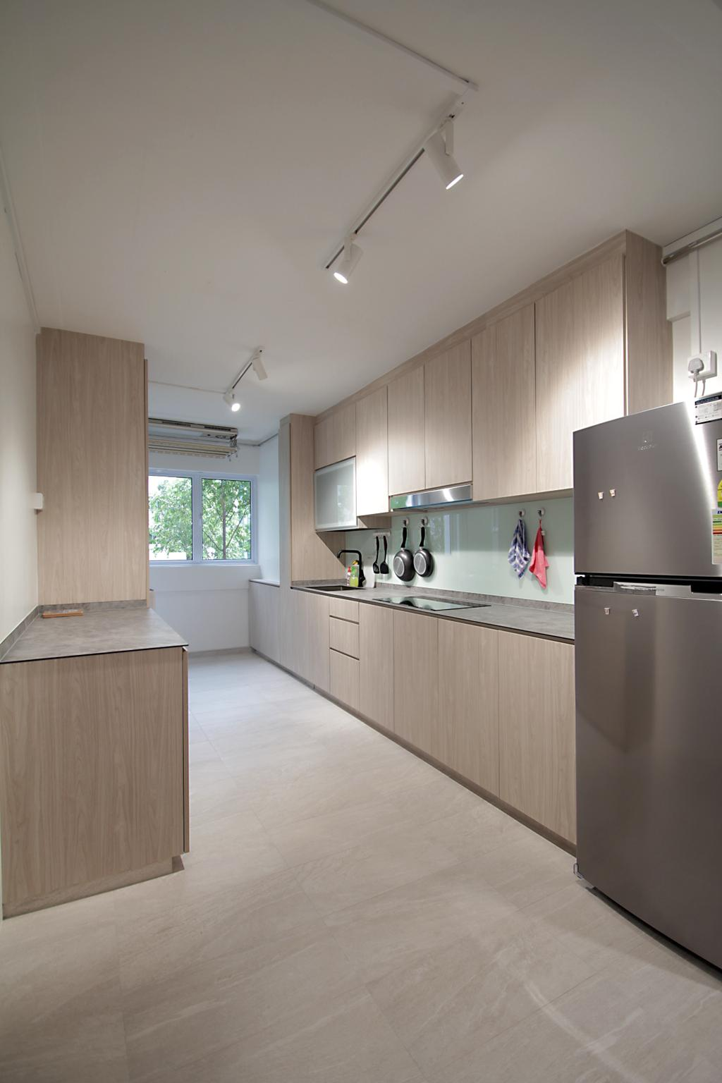 Contemporary, HDB, Kitchen, Yishun Ring Road, Interior Designer, Mesh Room Design