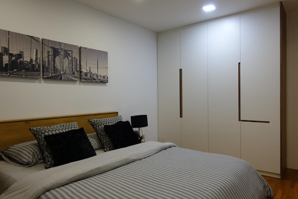 Modern, HDB, Bedroom, Punggol Place, Interior Designer, Exqsite Interior Design