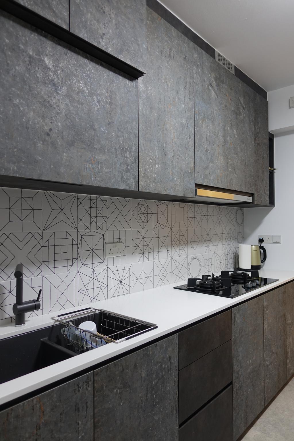 Modern, HDB, Punggol Place, Interior Designer, Exqsite Interior Design