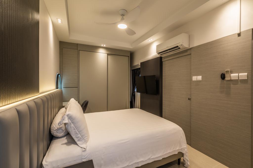 Modern, HDB, Bedroom, Jelebu Road, Interior Designer, Exqsite Interior Design, Contemporary
