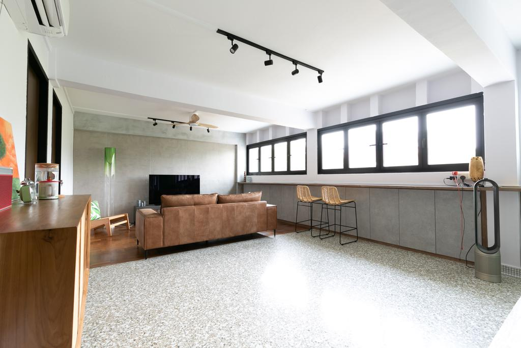 Modern, HDB, Living Room, Queen Close, Interior Designer, Todz'Terior