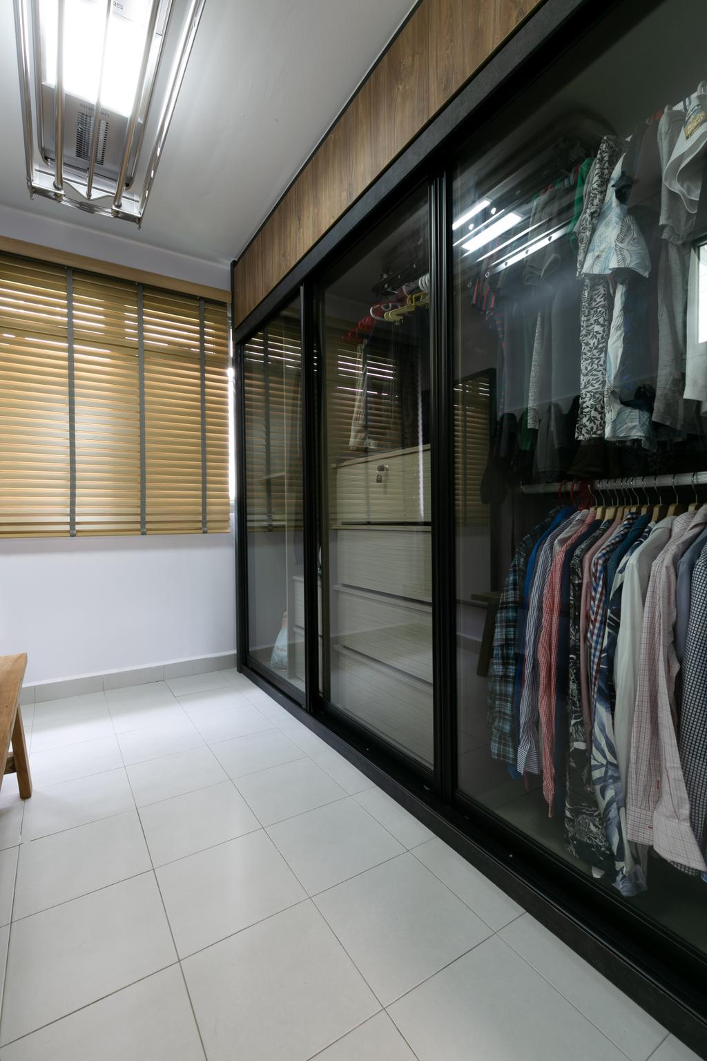 Modern, HDB, Bedroom, Queen Close, Interior Designer, Todz'Terior