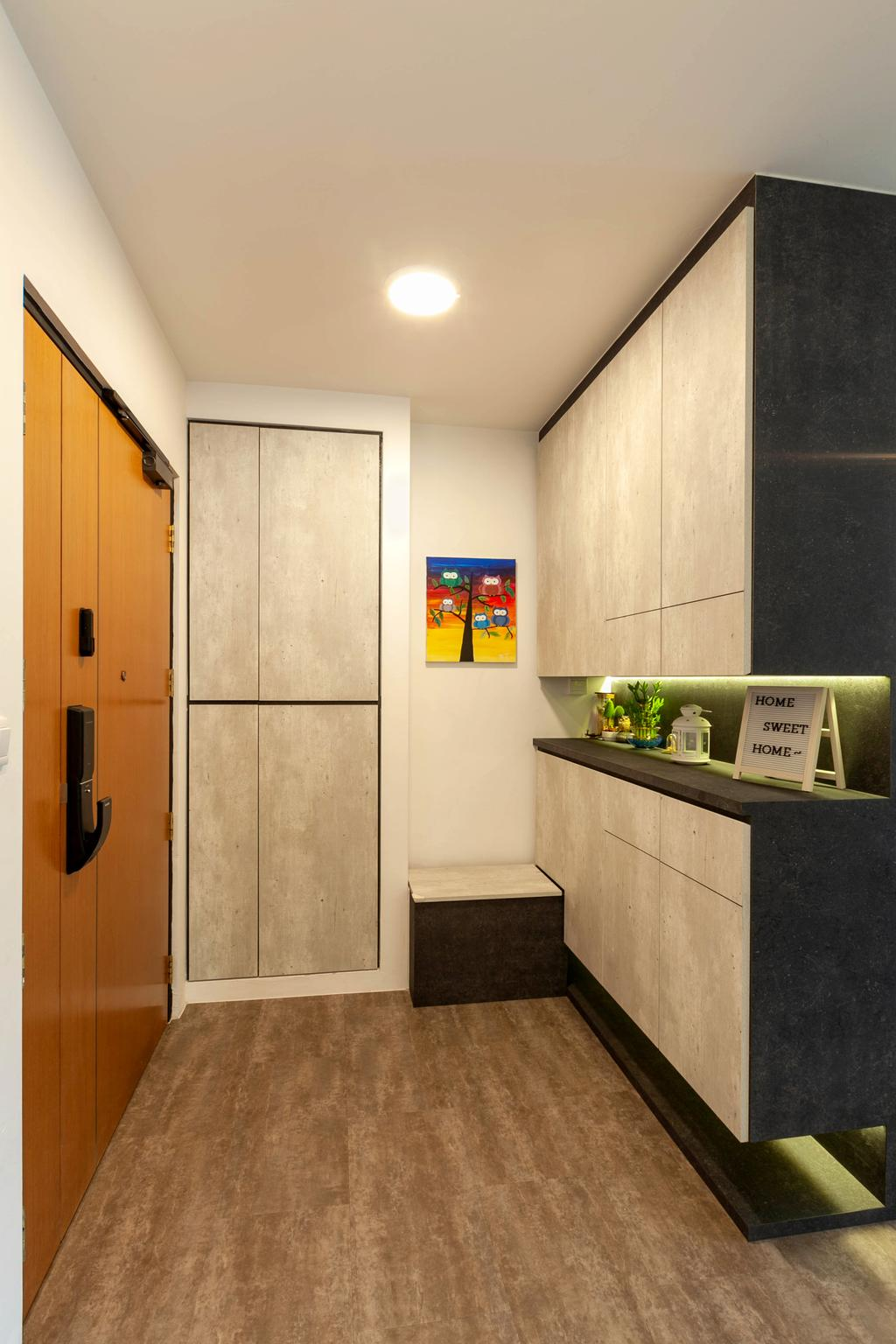 HDB, Living Room, Anchorvale Street, Interior Designer, Todz'Terior