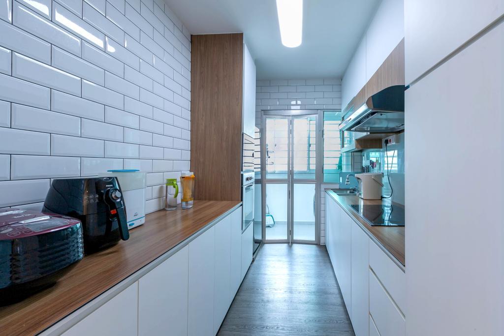 HDB, Kitchen, Anchorvale Street, Interior Designer, Todz'Terior
