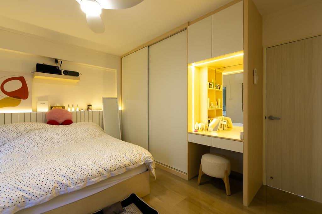 Modern, HDB, Bedroom, Woodlands Avenue 3, Interior Designer, Todz'Terior