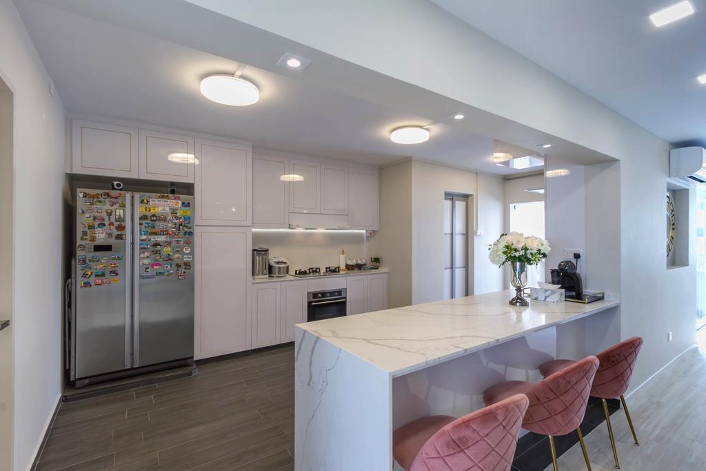 Modern, HDB, Dining Room, Hougang Street 51, Interior Designer, Todz'Terior