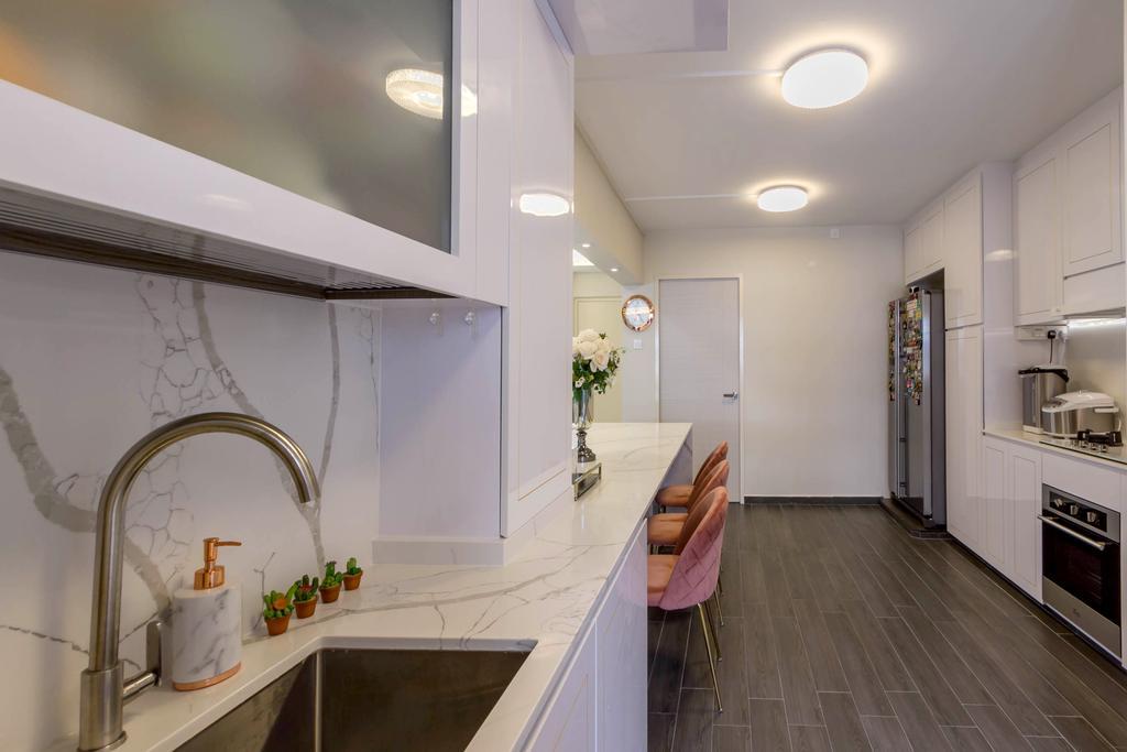 Modern, HDB, Kitchen, Hougang Street 51, Interior Designer, Todz'Terior