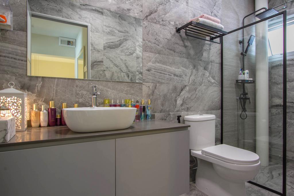 Modern, HDB, Bathroom, Hougang Street 51, Interior Designer, Todz'Terior