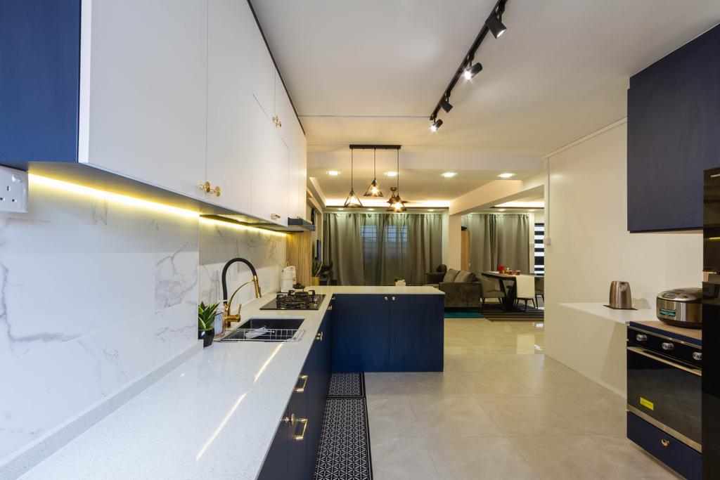 Modern, HDB, Kitchen, Pasir Ris Street 51, Interior Designer, Todz'Terior, Minimalistic