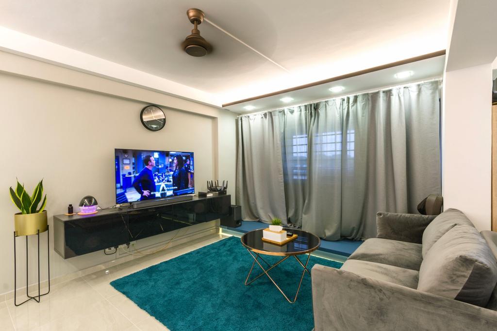 Modern, HDB, Pasir Ris Street 51, Interior Designer, Todz'Terior, Minimalistic