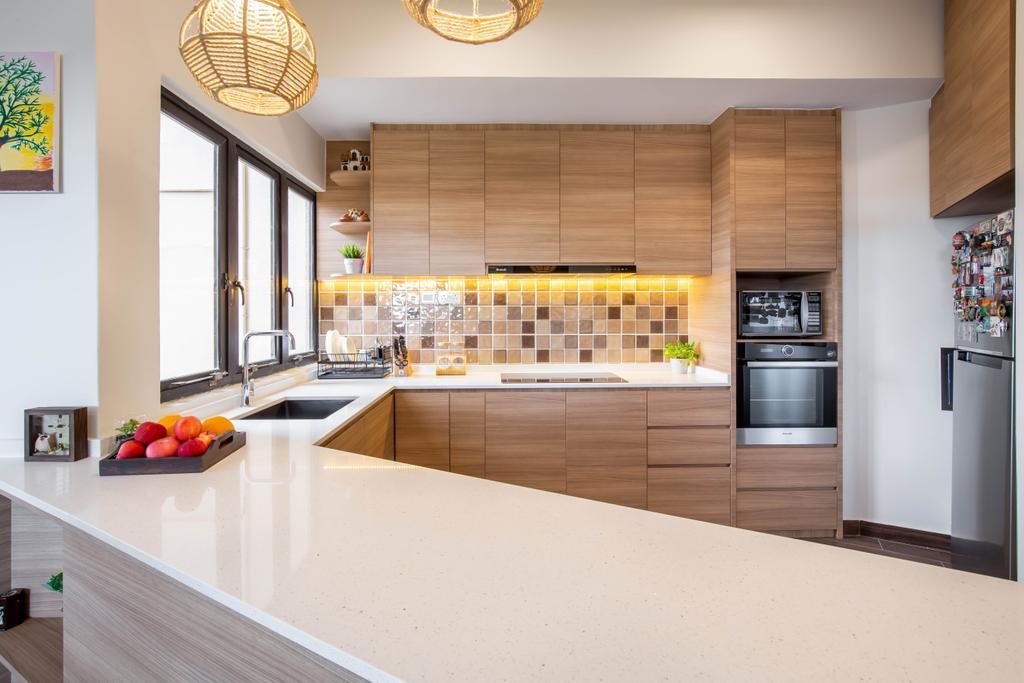 Contemporary, Condo, Kitchen, Bayshore Park, Interior Designer, Inizio Atelier, Scandinavian