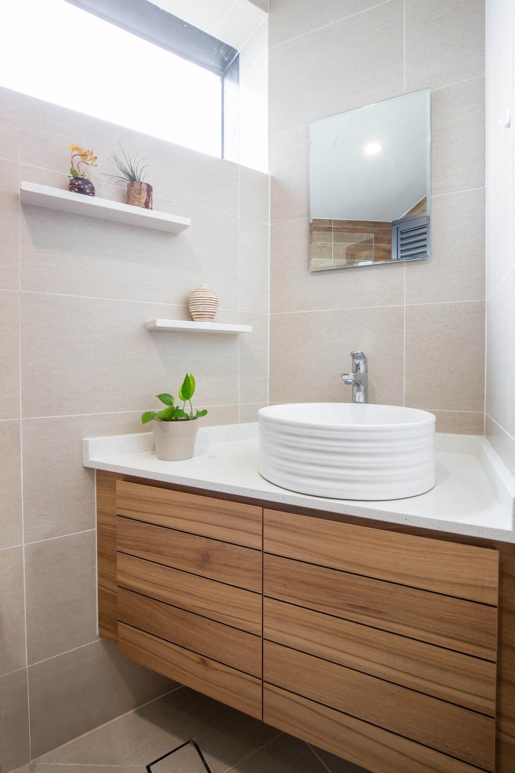 Contemporary, Condo, Bathroom, Bayshore Park, Interior Designer, Inizio Atelier, Scandinavian