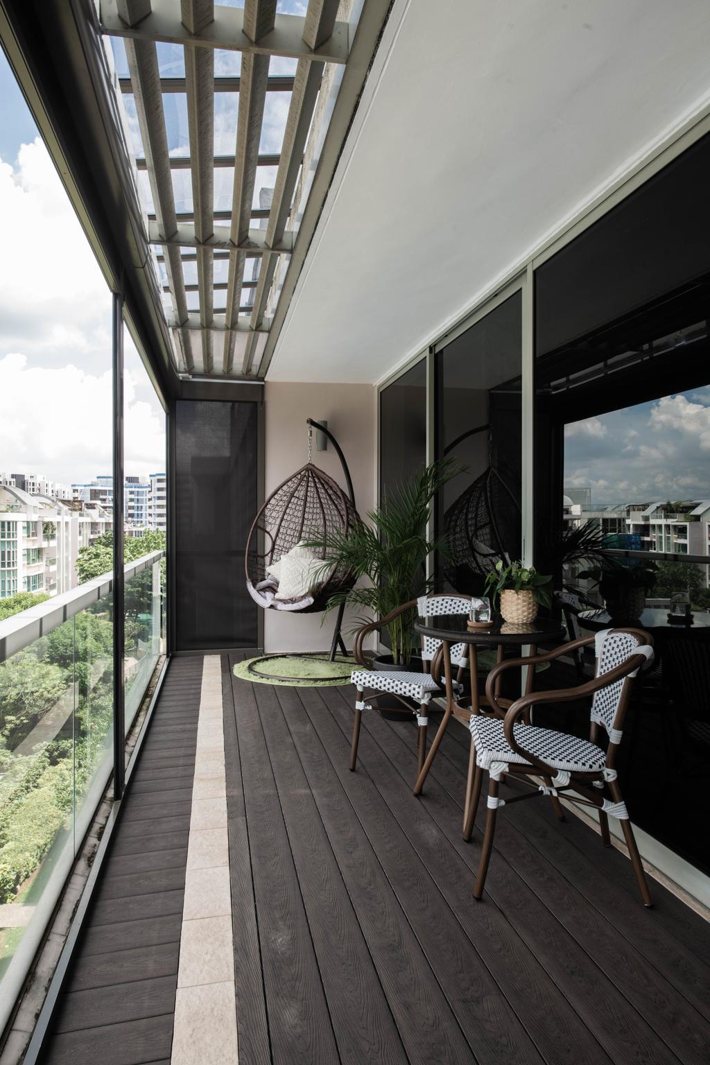 Modern, Condo, Balcony, The Calrose, Interior Designer, Yang's Inspiration Design, Contemporary