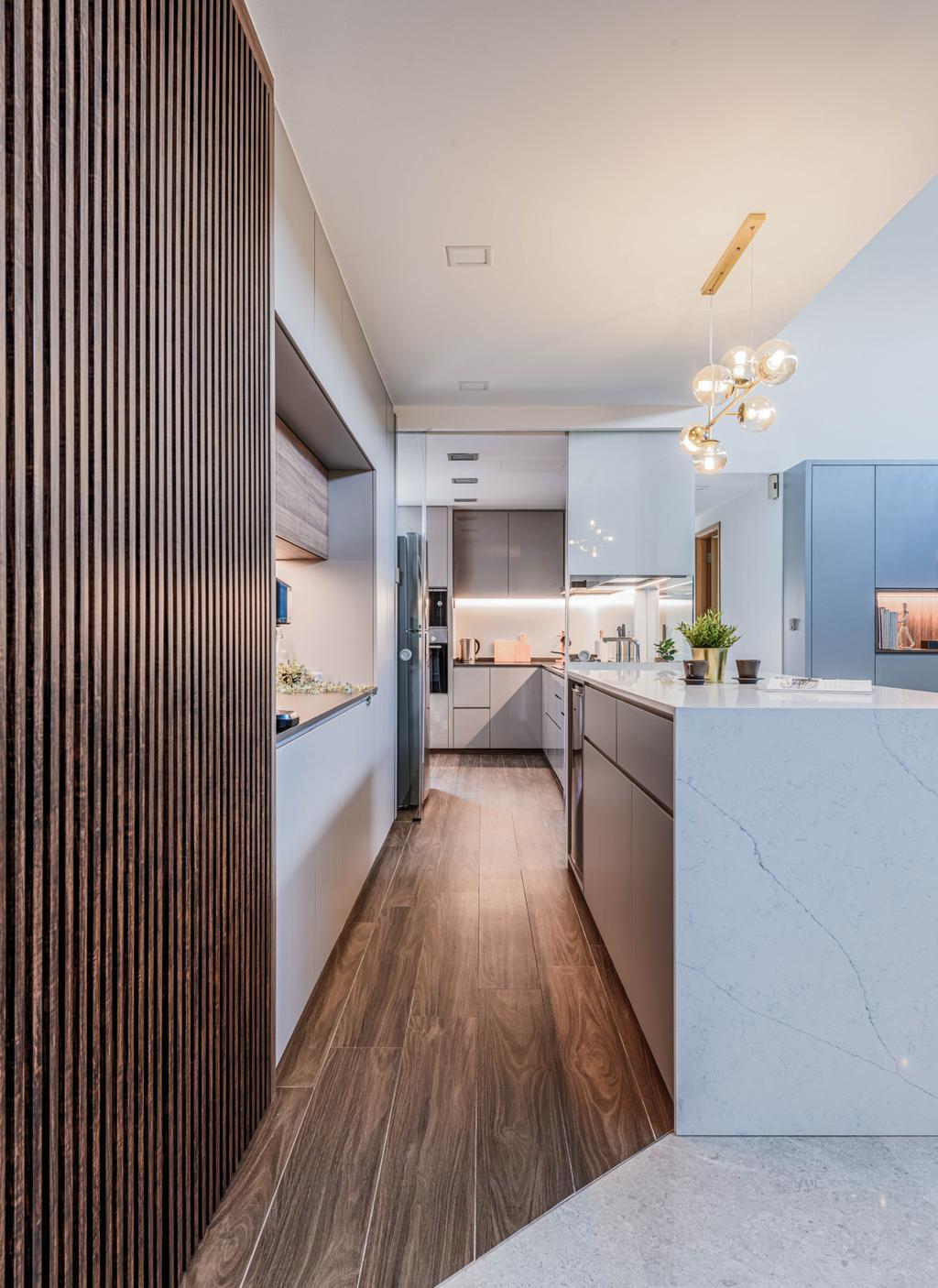Modern, Condo, Kitchen, The Calrose, Interior Designer, Yang's Inspiration Design, Contemporary